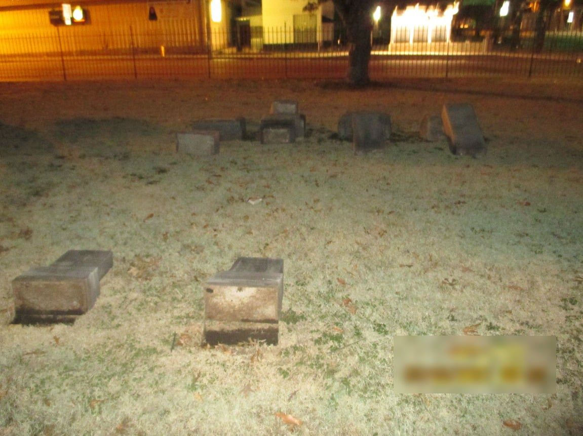 Man accused of doing thousands of dollars worth of damage to graves at Tulsa cemetery