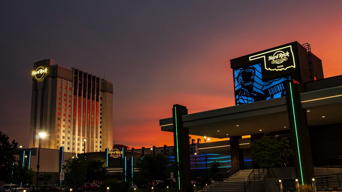 Hard Rock Hotel & Casino Tulsa wins TripAdvisor's Travelers' Choice Award for 2020