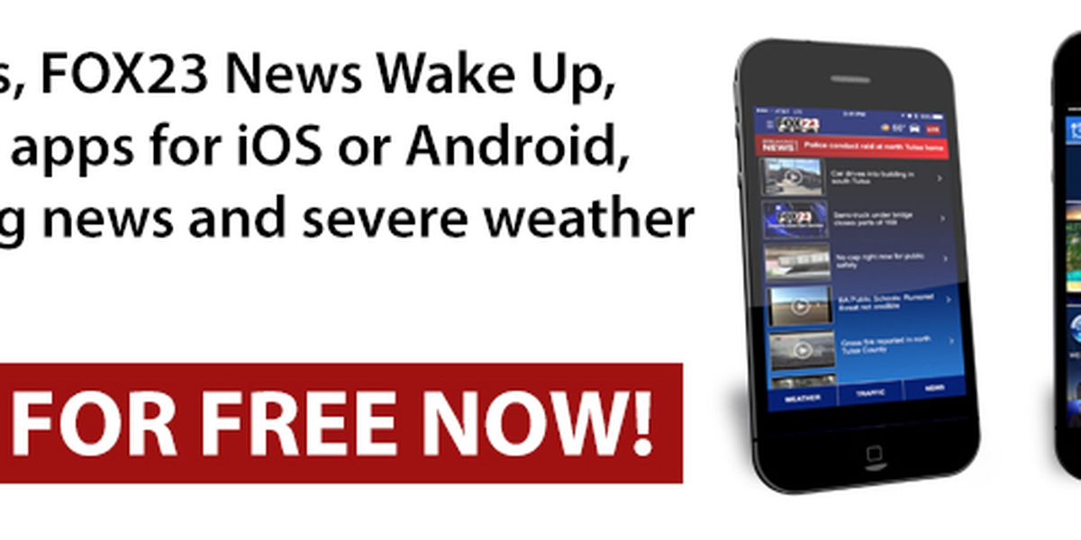 Download the FOX23 News App