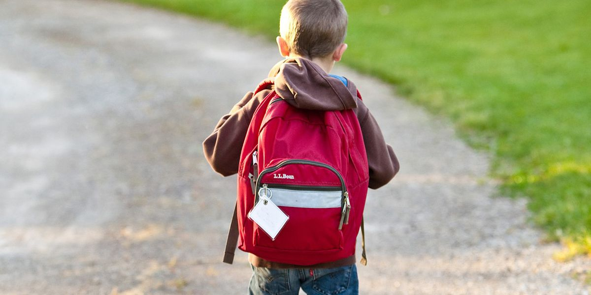 Elementary school student helps classmate with autism navigate first day