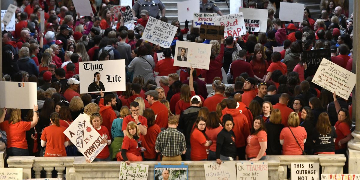 Districts handle ACT/SAT testing during Oklahoma walkout