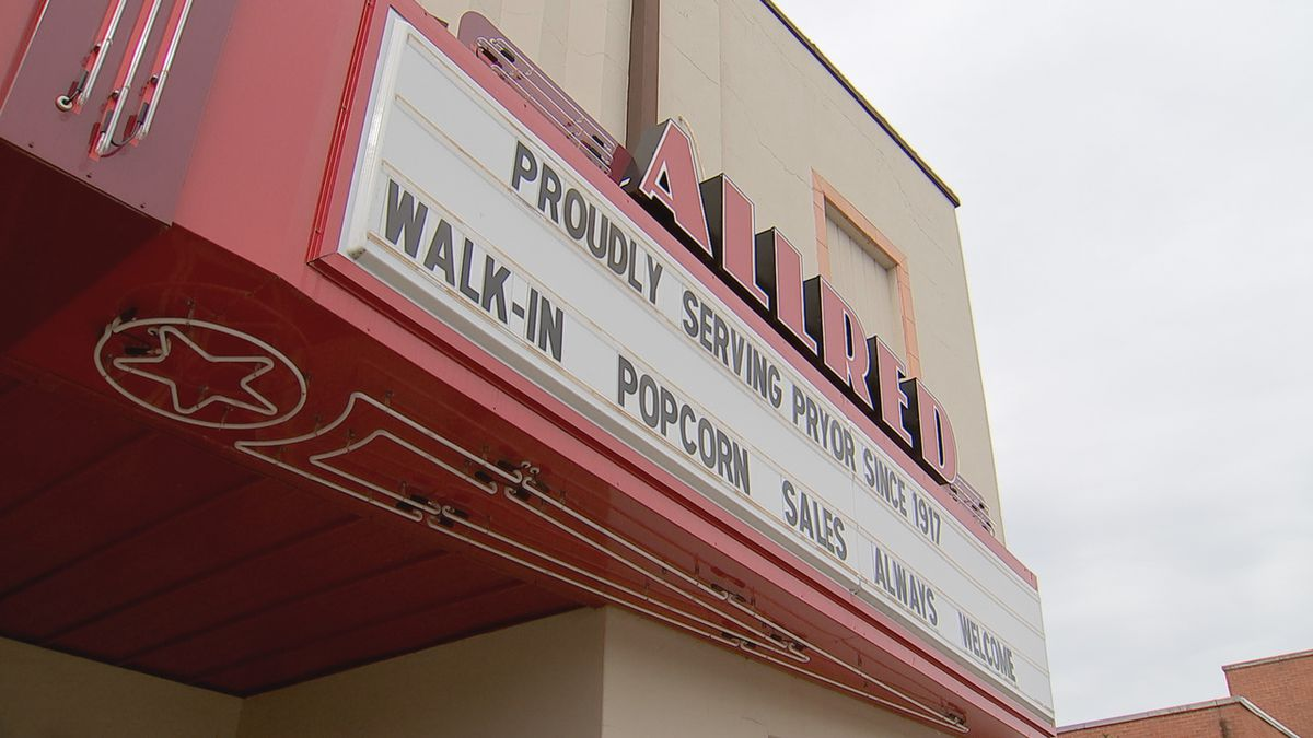 Pryor theater now offering private showings for classic movies