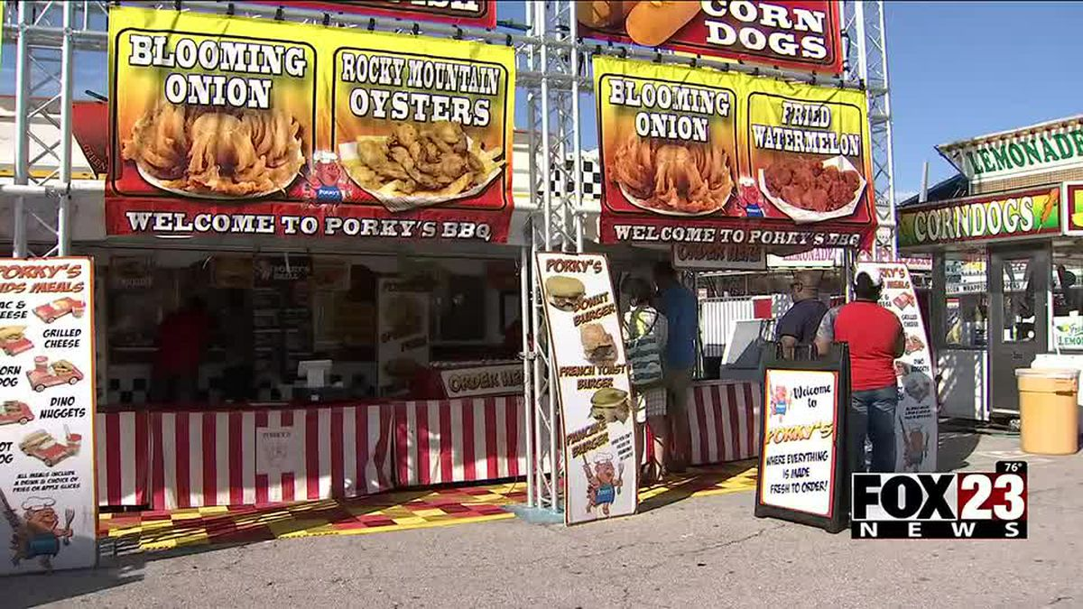 Tulsa State Fair food to be sold at Junior Livestock Shows