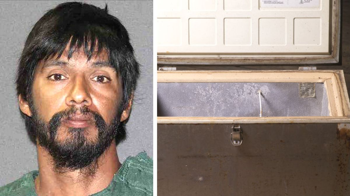 Texas man who murdered pregnant ex-girlfriend, hid her body in a freezer receives 2 life sentences