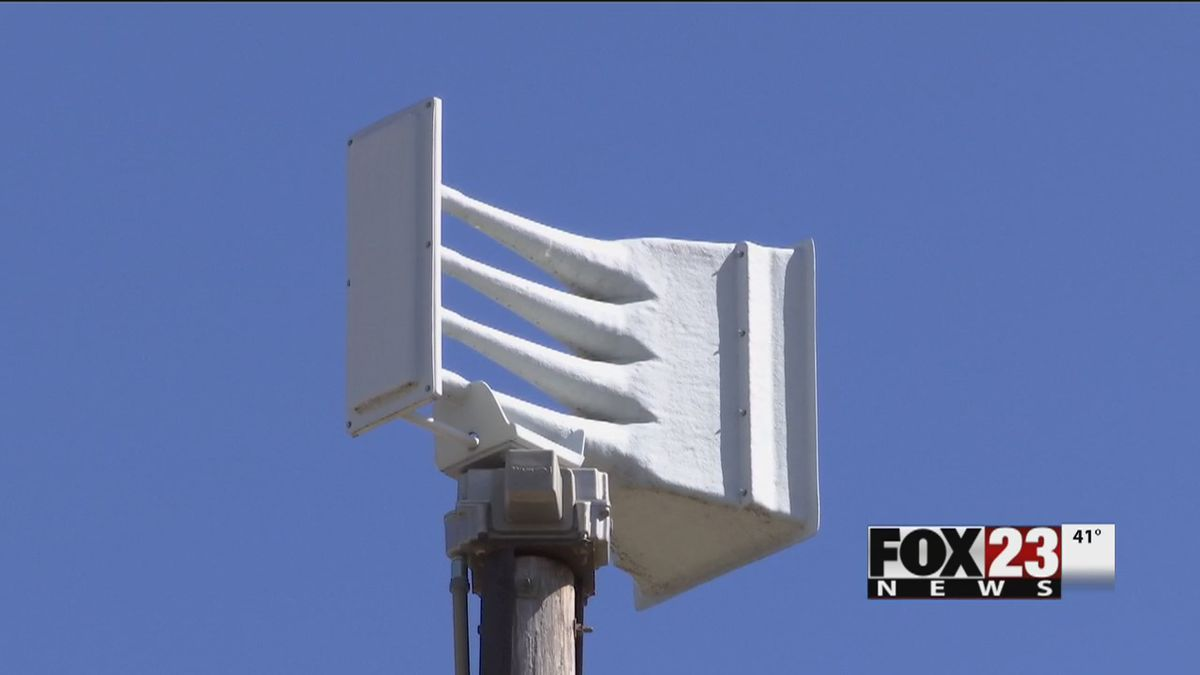 TULSA WEATHER: What's the difference between a flood and tornado siren?