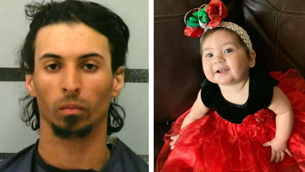 Police: Man 'crammed' girlfriend's infant daughter into backpack for over 5 hours, killing her