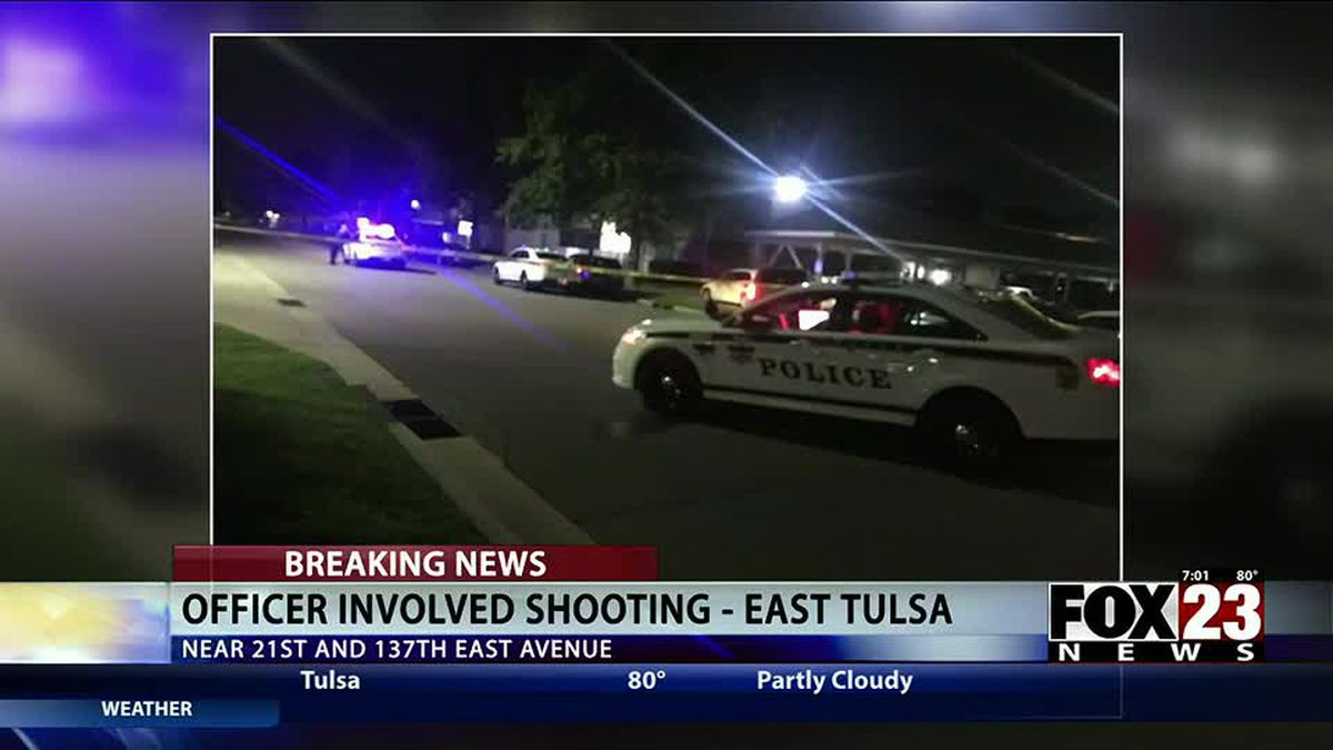 Tulsa police officers shoot one person after car chase