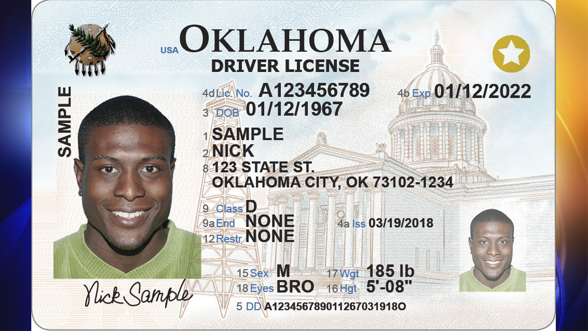 Oklahoma is getting a REAL ID extension due to the coronavirus pandemic