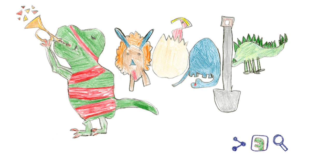 Second-grader wins annual Doodle for Google contest