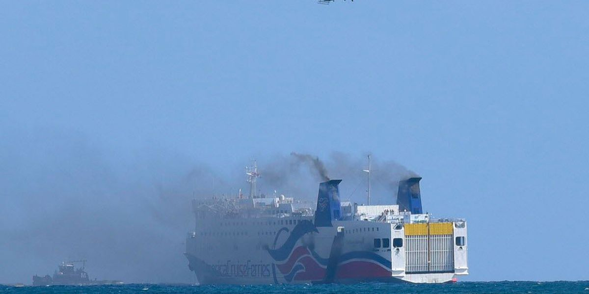 NTSB: Puerto Rico ship fire revealed maintenance problems, poor crew training