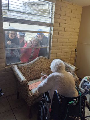 """We care about you"" 