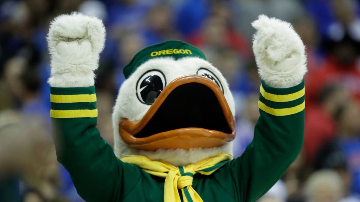 Coronavirus: We all can relate to University of Oregon mascot's stay-at-home video