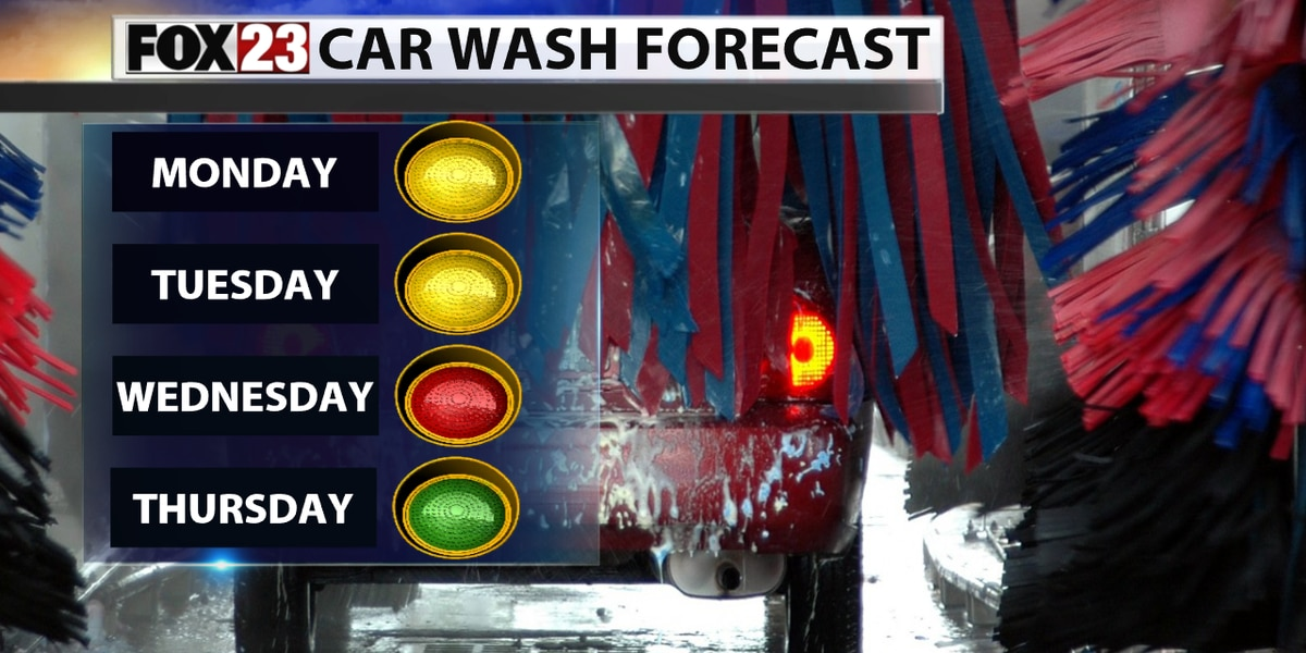Soggy week ahead for Green Country