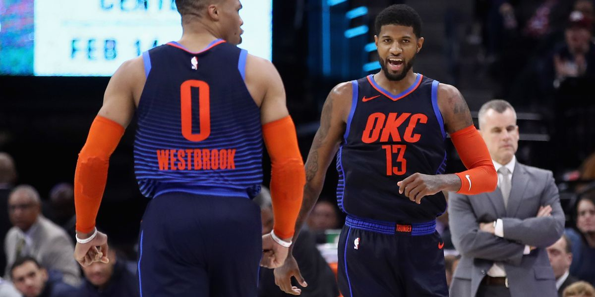OKC's Paul George named finalist for NBA's Most Valuable Player