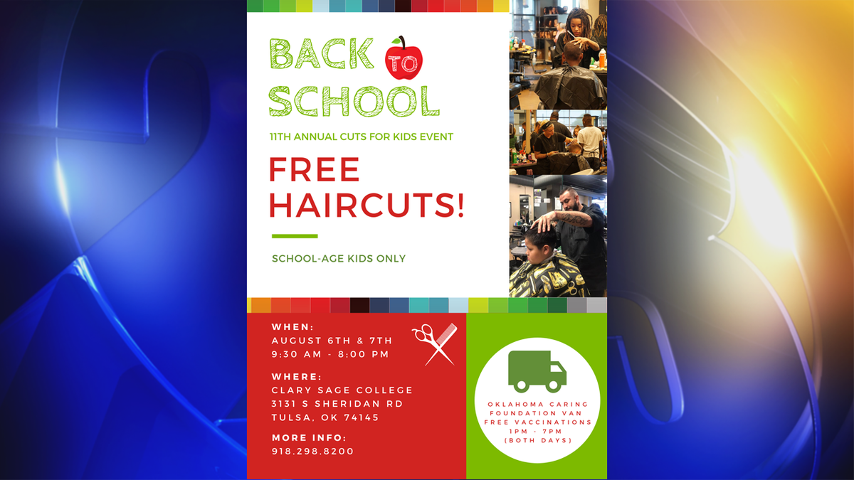 BACK TO SCHOOL: Clary Sage College to offer free haircuts for kids