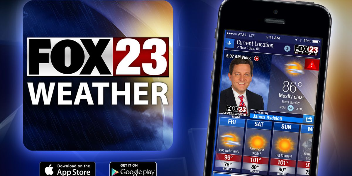 FAQs on FOX23's new Severe Weather Team app