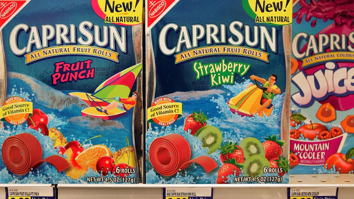 Indiana dad warns parents about mold in Capri Sun pouches