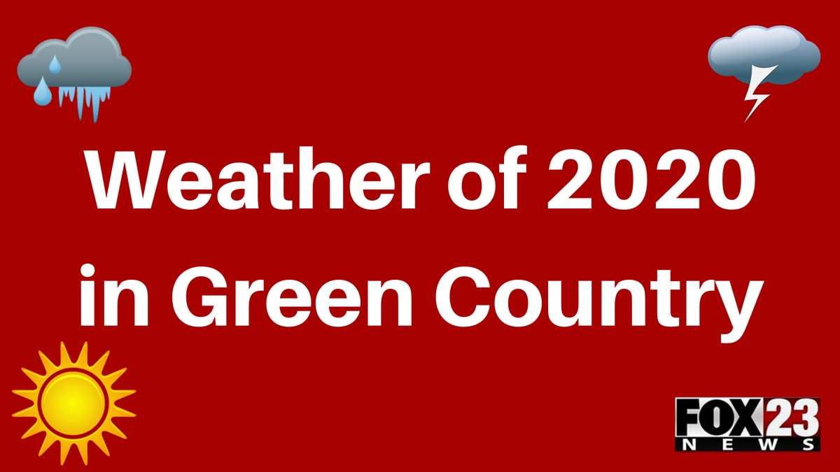 2020 weather events in Green Country