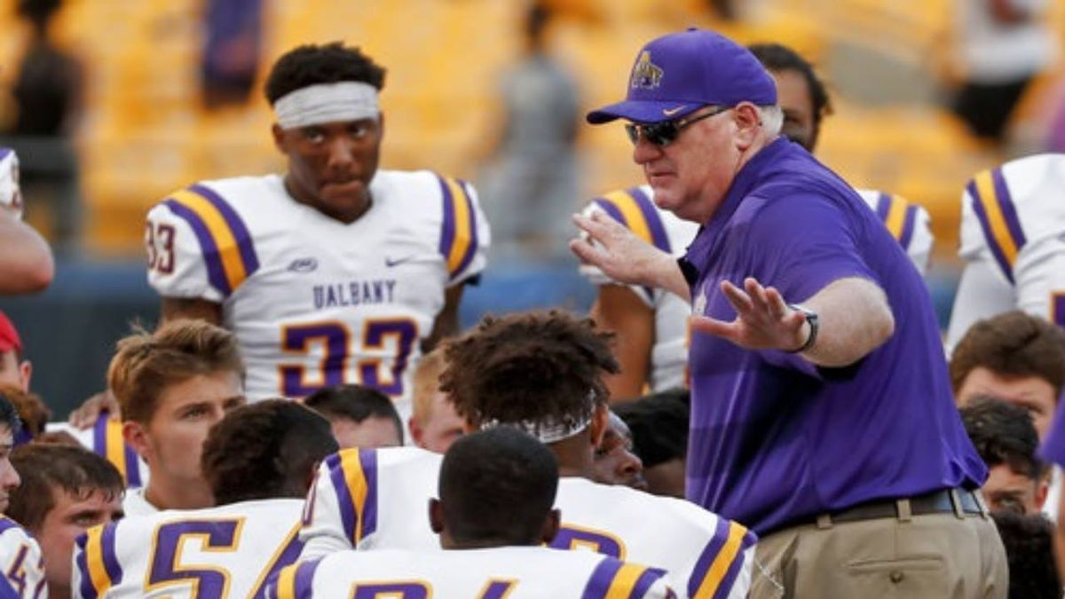 Police 'serve' scholarship papers to 4 University of Albany football players