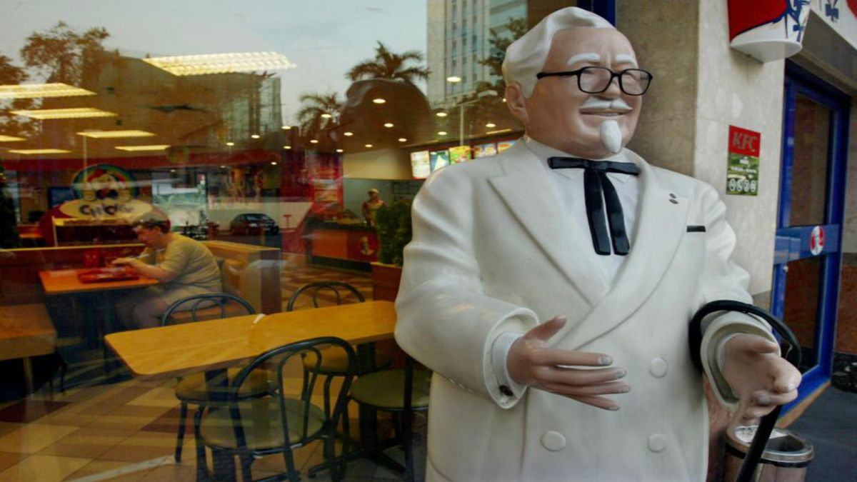 KFC offering college fund for first baby named for Colonel Sanders on Sept. 9