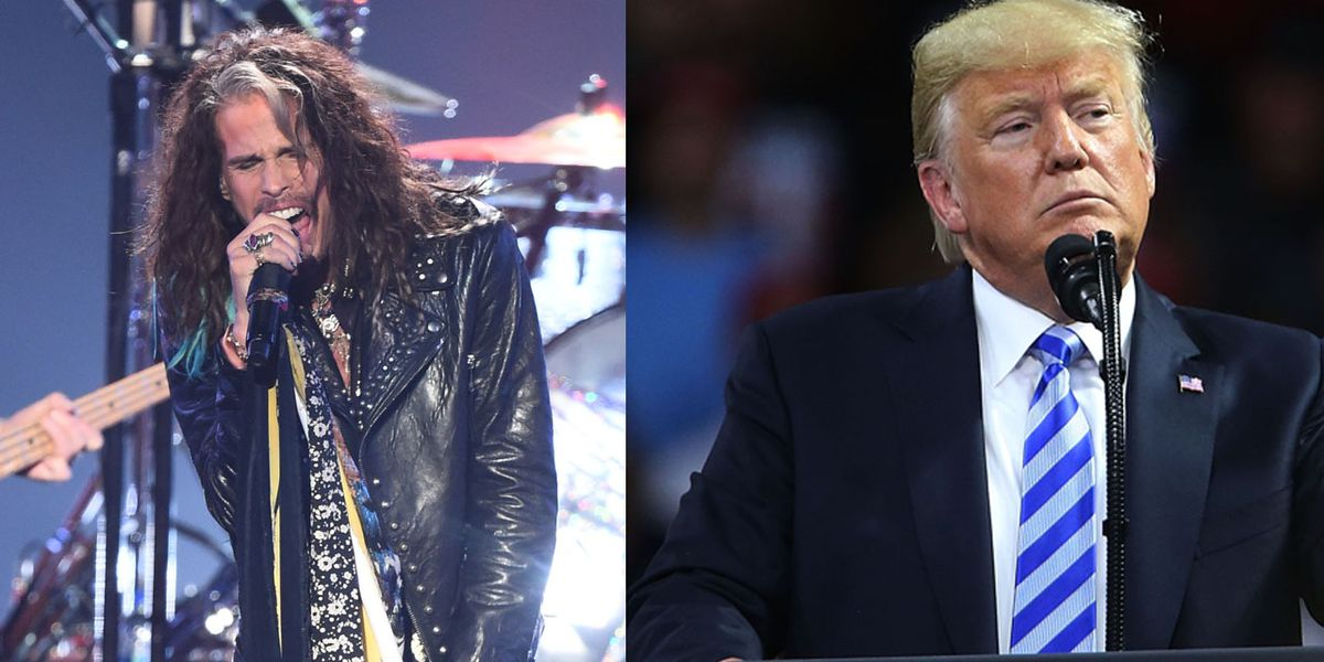 Steven Tyler calls in attorney to tell President Donald Trump to stop using Aerosmith songs